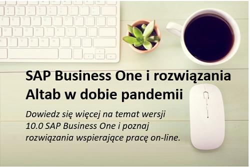 """Spotkanie dla Klientów wpis miniatura v2 - Spotkanie on-line """"SAP B1 i rozwiązania ALTAB w dobie pandemii"""""""
